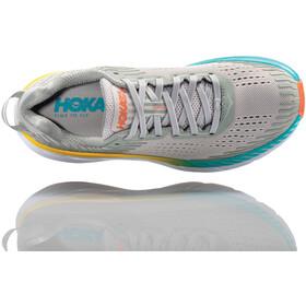 Hoka One One Clifton 5 Buty do biegania Kobiety szary/niebieski